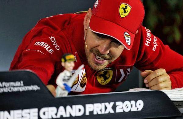 Komend weekend niet cruciaal voor Ferrari volgens Vettel