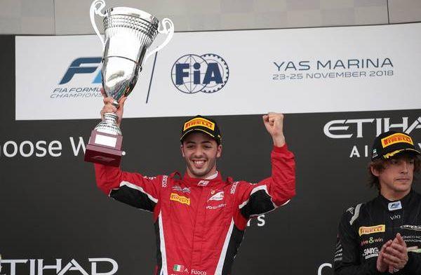 Fuoco zal testrijden voor Ferrari in Barcelona