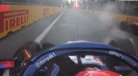 Image: Watch: Another crash in Baku! Kvyat causes red flag in FP2