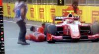 Afbeelding: Formule 2 in Baku: Sean Gelael vloert twee Marshalls