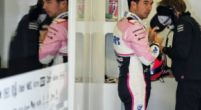 """Image: Perez was on """"full limit"""" to keep McLarens at bay"""