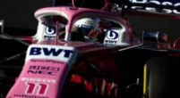 """Image: Perez says Racing Point are """"behind schedule"""""""
