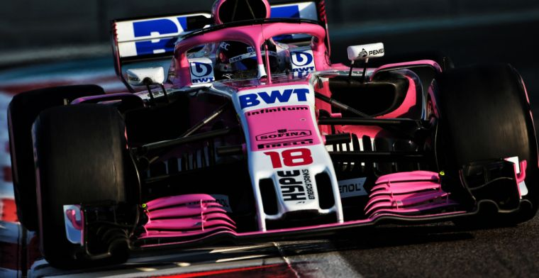 Stroll aiming for Racing Point to top very tight midfield