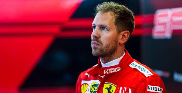 Ricciardo over Vettel: ''Ik had verwacht dat het hem meer zou raken''