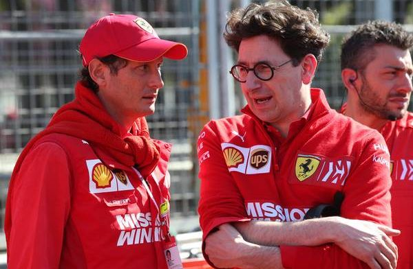 Mattia Binotto admits Mercedes is 'slightly better' than Ferrari