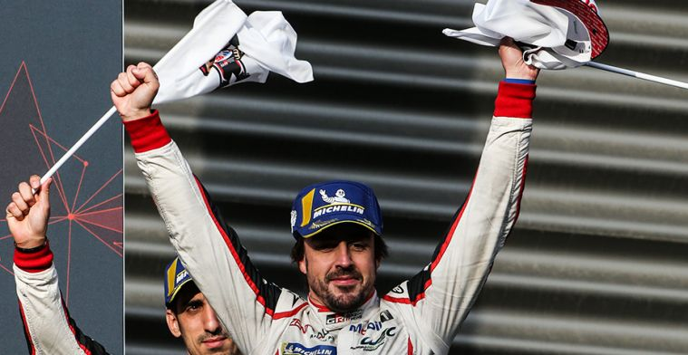 Alonso optimistisch voor Triple Crown