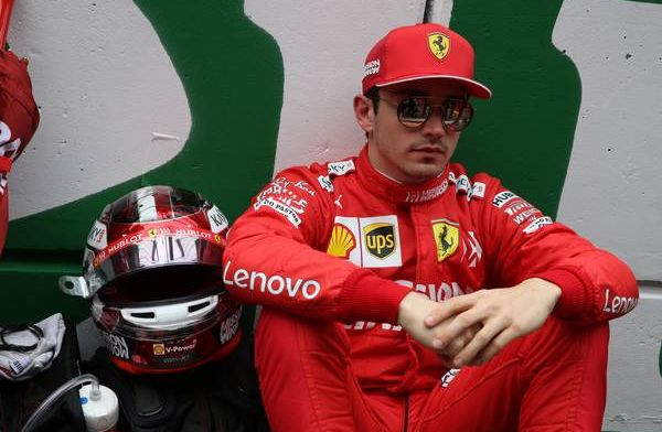 """Leclerc says he is """"very demanding"""" with himself"""