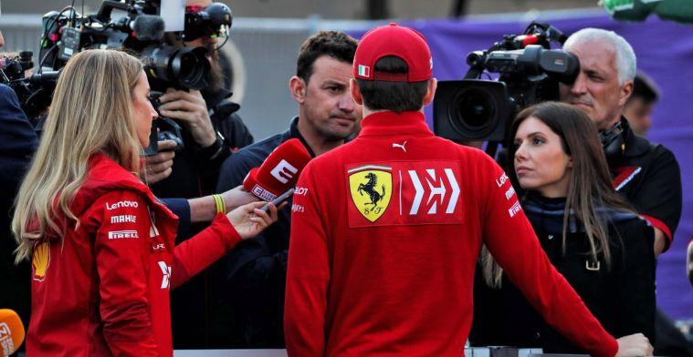 Charles Leclerc begrijpt waarom er extra aandacht is voor zijn relatie met Vettel