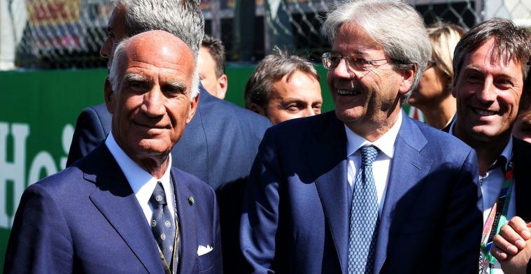 De onderhandelingen voor het nieuwe contract van Monza waren bijna afgeblazen