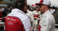 """Afbeelding: Raikkonen: """"Ik ben gewoon een coureur bij Alfa Romeo, net zoals bij elk team"""""""