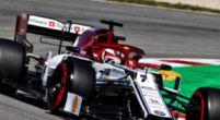 """Afbeelding: Alfa Romeo teleurgesteld met kwalificatie: """"Dit was hélemaal niet goed"""""""