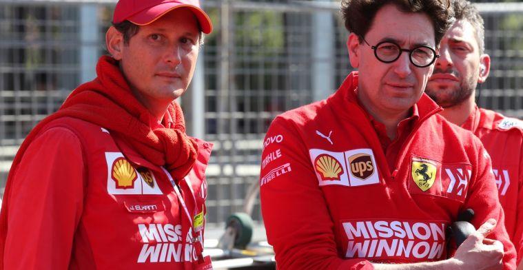Binotto teleurgesteld in prestaties en updates aan de auto