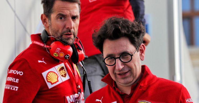 Binotto vraagt zich af of Ferrari verkeerde keuze heeft gemaakt met concept bolide