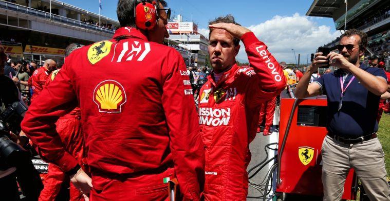 Italiaanse kranten maken Ferrari af na Barcelona