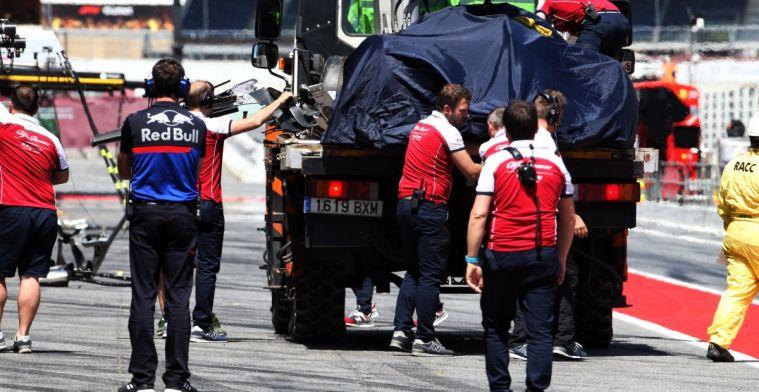 Callum Ilott over crash bij Barcelona test: Zo hard ben ik er nog nooit afgegaan