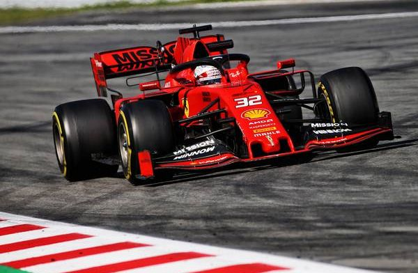 Antonio Fuoco enjoyed testing with Ferrari today