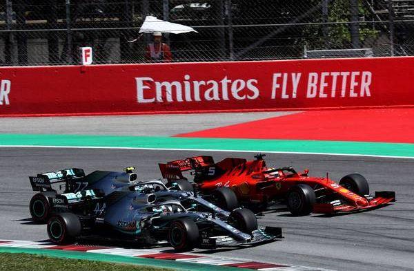 Mercedes believe Bottas start down to poor grip