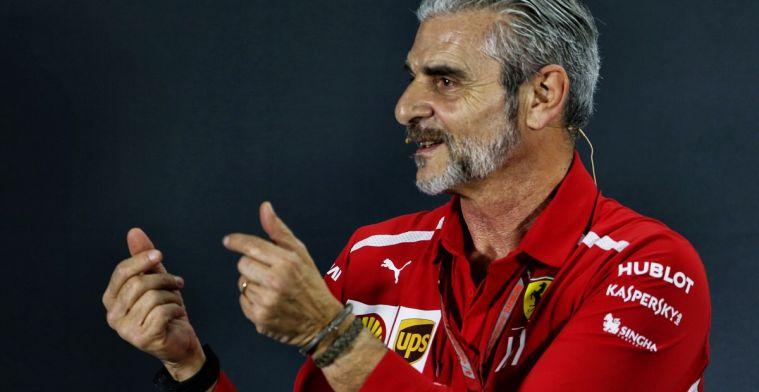 Arrivabene spoort fans aan ook in moeilijke tijden voor Ferrari te juichen