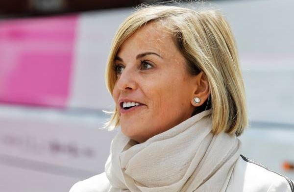 Susie Wolff doing the job that I love by leading Formula E team