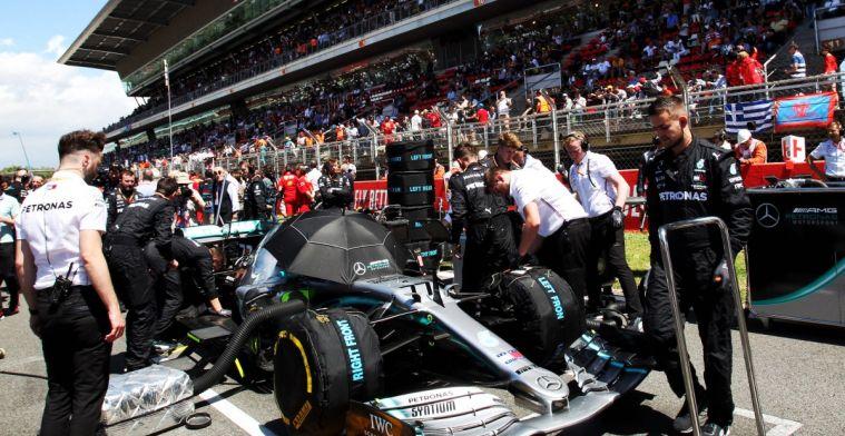 Mercedes engineers zijn het niet eens met Bottas over koppelingsproblemen