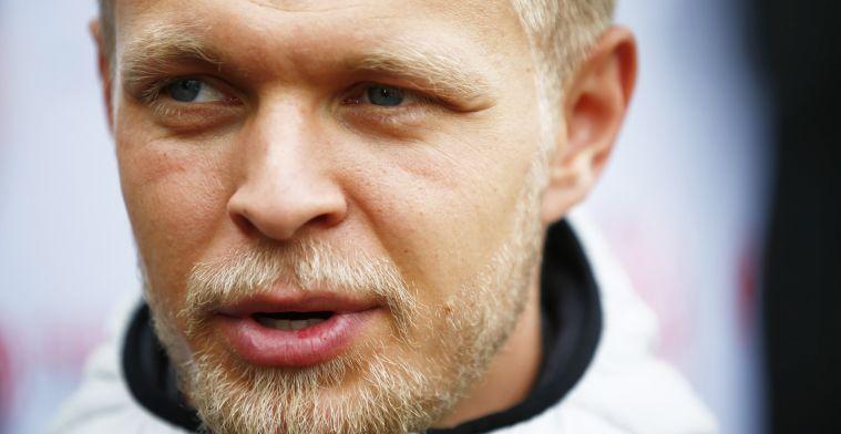 Magnussen schrok niet van Steiner: Hij klinkt altijd boos, ook als hij jarig is