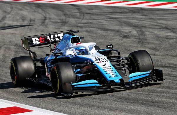 Latifi happy with Williams testing performance
