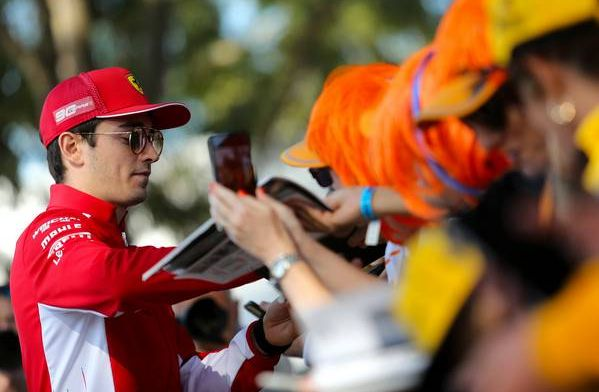"""Leclerc: """"Ik wil winnen, maar soms is het belangrijker om je karakter te tonen"""