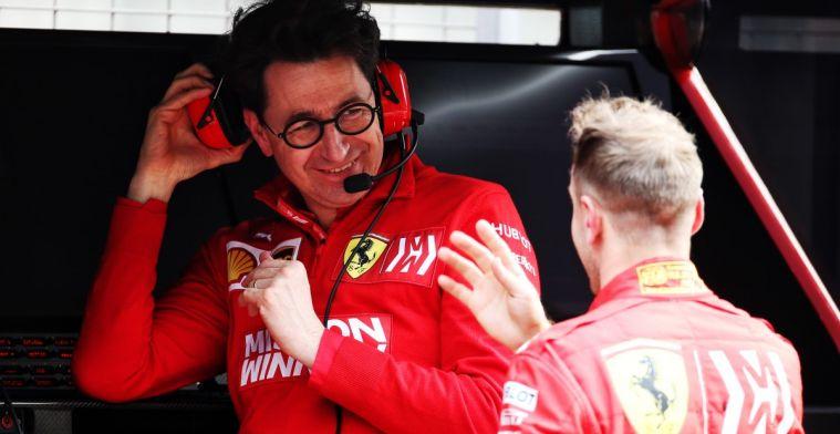 Marc Surer: Ferrari moet alles op Vettel zetten