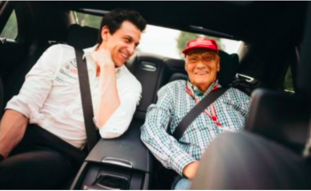 Emotional Toto Wolff remembers Niki Lauda