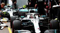 Afbeelding: Hamilton en Ferrari op de bon voor te hard rijden in pitstraat