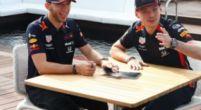 Afbeelding: Verstappen en Gasly trappen lol in Monaco met hilarische quiz
