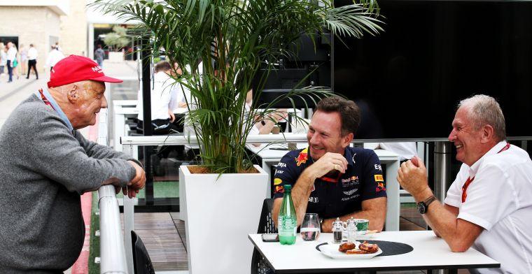 Horner mist Lauda enorm: Hij en Helmut waren als die twee oudjes van de Muppets