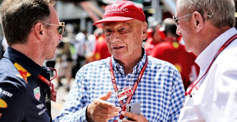 Minuut stilte voor Niki Lauda voor aanvang van de race in Monaco