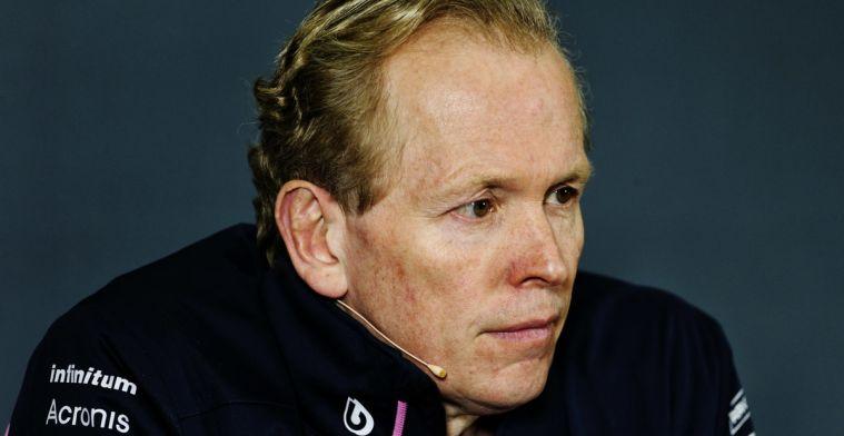 Andy Green legt uit waarom Racing Point niet meedoet aan bandentest