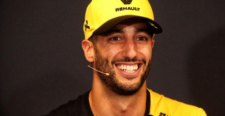 Ricciardo over Max Verstappen en Vettel: Max rijdt meer op instinct