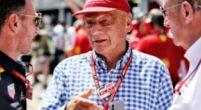 Afbeelding: Minuut stilte voor Niki Lauda voor aanvang van de race in Monaco