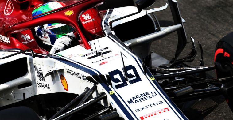 Drie plaatsen gridstraf voor Giovinazzi in Monaco