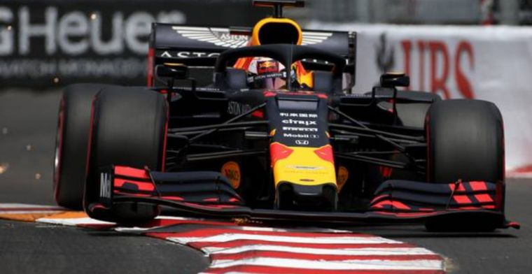 Verstappen admits he lost a bit of time in turn one