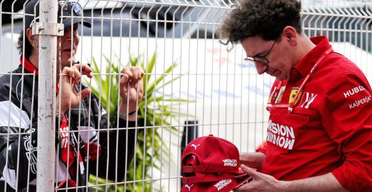 Ferrari geeft toe verkeerde inschatting te hebben gemaakt met Leclerc