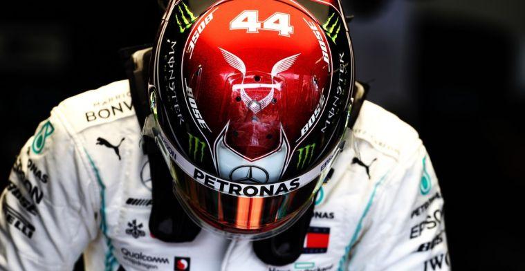 Hamilton over situatie Leclerc: Wij nemen zulke risico's niet