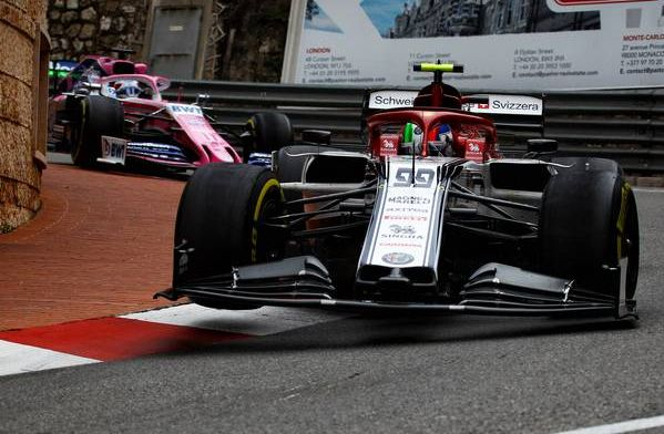 Giovinazzi hit with three-place grid penalty for Monaco Grand Prix