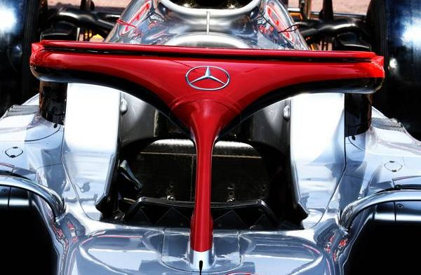 Look: Mercedes attach red halo in memory of Niki Lauda