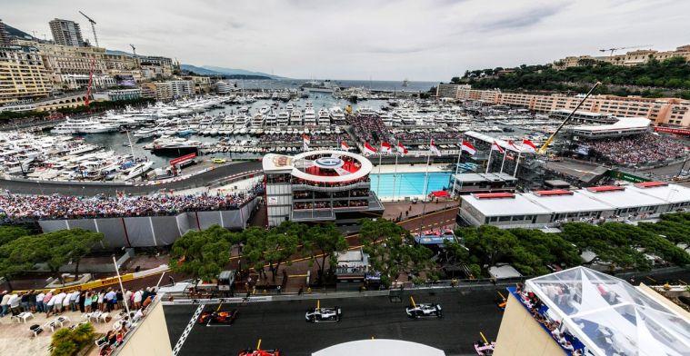 De voorlopige startgrid voor de Grand Prix van Monaco 2019!