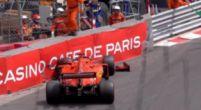 Afbeelding: VIDEO: Sebastian Vettel crasht in de muur tijdens VT3 Monaco