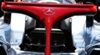 Image: Look: Mercedes attach red halo in memory of Niki Lauda
