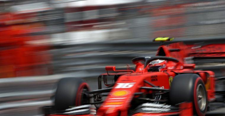 Leclerc: Het was leuk in het begin, maar eindigde rampzalig