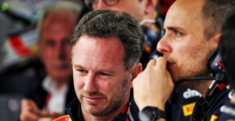 Ondanks P4 is Horner positief: Verstappen reed de wielen van de auto vandaag