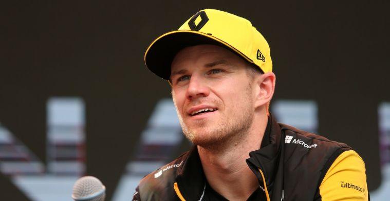 Hulkenberg over Leclerc: Hij was hier vandaag te ongeduldig