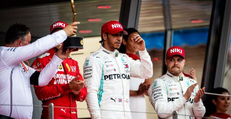 De stand in het kampioenschap na de Grand Prix van Monaco 2019