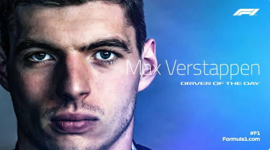 Max Verstappen voted Driver of the Day in Monaco!